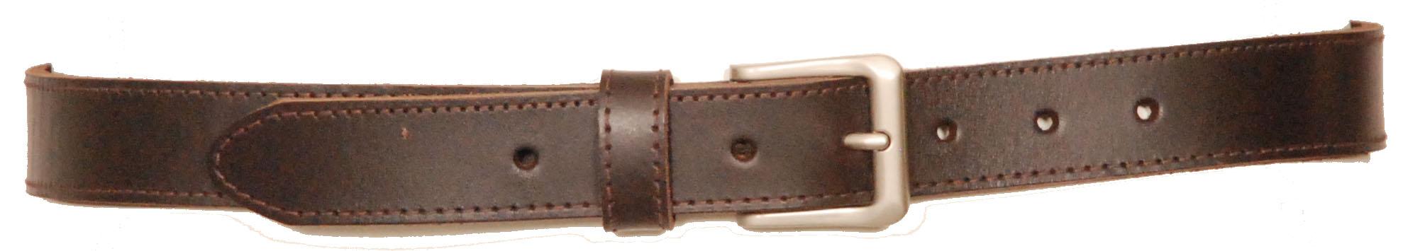 30mm regular chunky leather belt barden euroa clothing