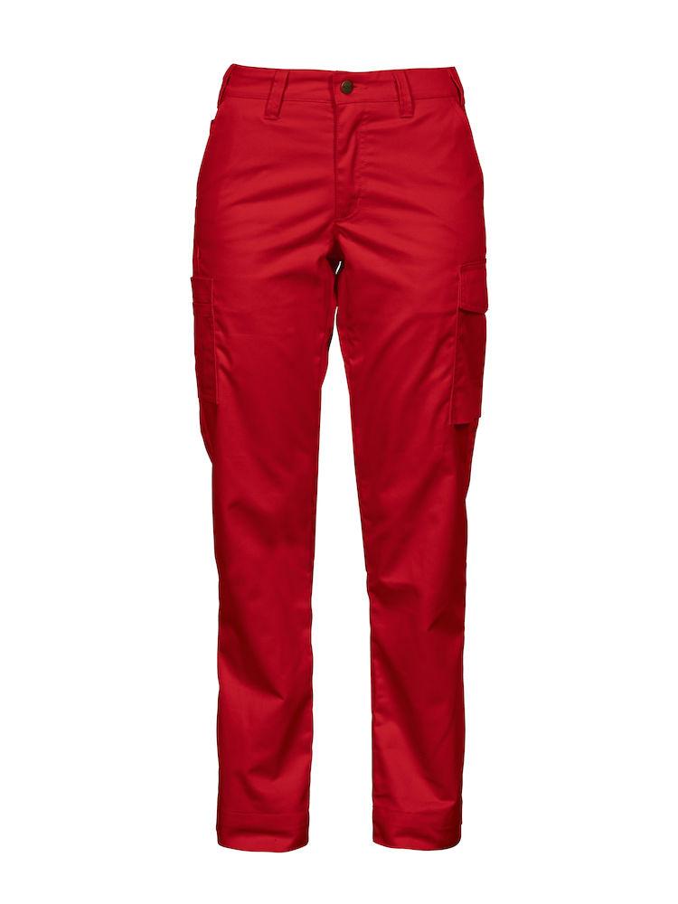Projob Ladies Waistpants PJ2519 | Red @ Barden Clothing
