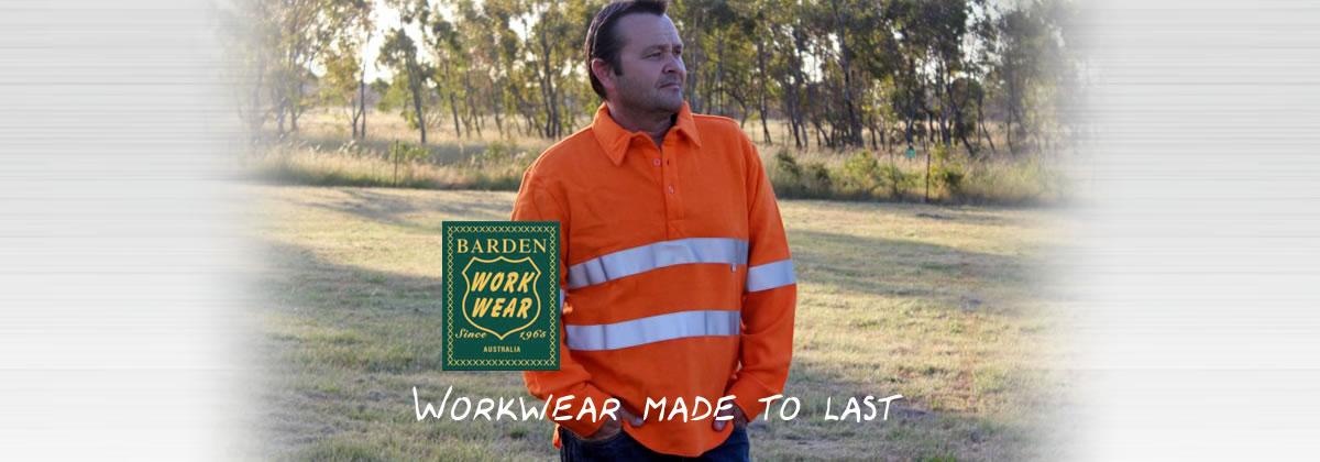 Barden Workwear Australia @ barden.com.au