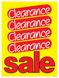 Clearance & Special
